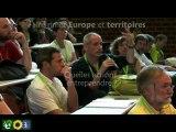 Un an après: de Bruxelles aux Journées d'été des écologistes