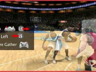 Présentation des contrôles de NBA 2K11 de NBA 2K11