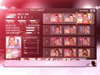 Présentation du mode dynastie de NHL 11