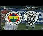 Fenerbahce-PAOK 1-1 Muslimovic Goal