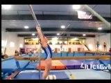 Voici la vidéo que je préfere avec ma gymnaste préferé...