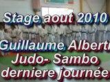 stage Guillaume alberti Judo - Sambo derniere journee