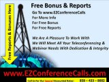 Cheap Conference Calls – International Teleconferencing P