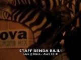 Staff Benda Bilili live @ Nova