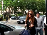 SNTV - Lindsay Lohan arrives back Stateside
