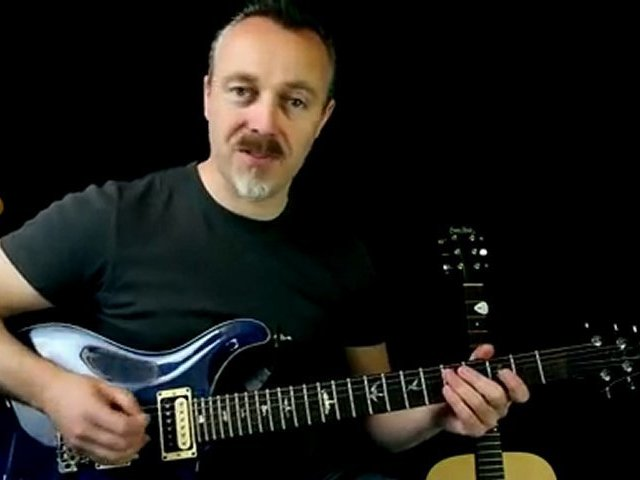 Learn To Play Funky Guitar Riff With Only 4 Notes