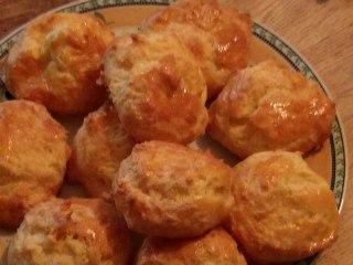 Recette de cuisine : Gougères au fromage