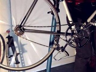 """""""L'Héroïque"""": vélo Fabien Fabre x le coq sportif"""