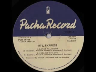 70's disco music - MTL Express - Dance all night 1979