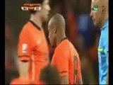 Video  Las entradas de Van Bommel y De Jong - AS.com2