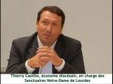 Sanctuaires N-D Lourdes : Interview de Thierry Castillo