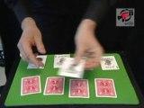 Tour de magie close-up: La carte folle