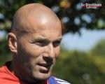 Zinédine Zidane de retour chez les Bleus