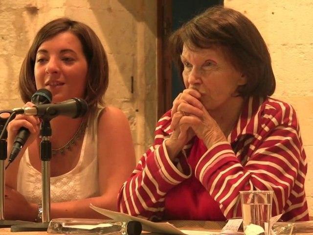 Rencontre avec Danielle Mitterrand