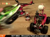 LEGO 8863 Review : LEGO Blizzards Peak World Racers Review