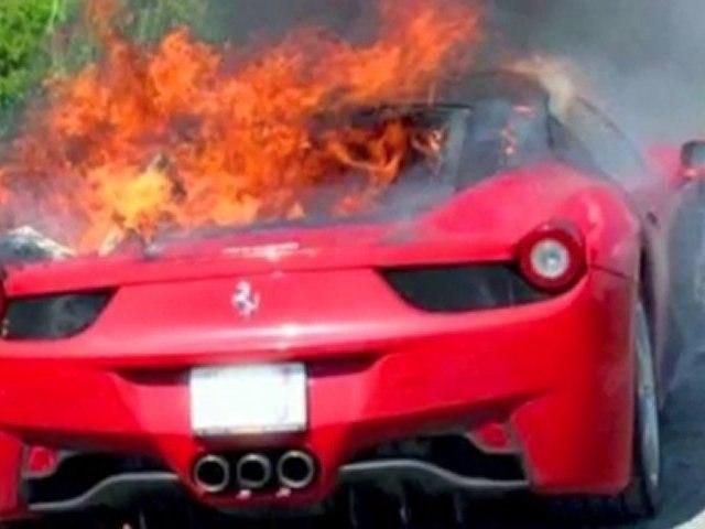 Ferrari Cursed