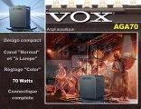 Ampli guitare acoustique Vox AGA70 (La Boite Noire)