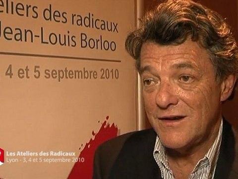 Jean-Louis Borloo - Réaction suite aux ateliers des Radicaux