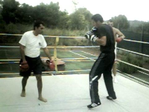Entrainement technique Boxe Anglaise Arsen