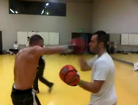 Entrainement technique Boxe Anglaise Nicolas