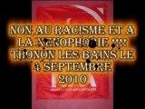 Non au Racisme et a la Xenophobie