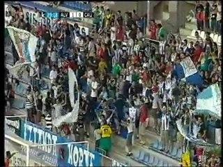 Gol de Geni , Alavés 1 Caudal 0 , 2010/2011