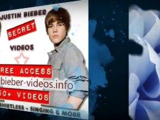 Justin Bieber Shirtless Video, Pictures, Photos