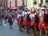 Roman & barbarian parade during the cantabra wars