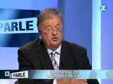 Georges Frêche fait sa rentrée TV : les retraites