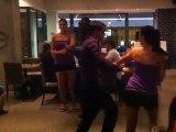 Démonstratio de  Salsa cubaine estde Rueda l Endroit LYON