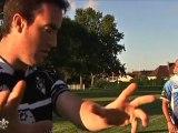 La Séquence de Seb : Rugby, Seb apprend les passes !