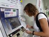 prendre des billets de metro à tokyo