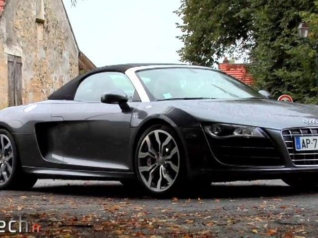 Cartech Le mag : Audi R8 Spyder V10
