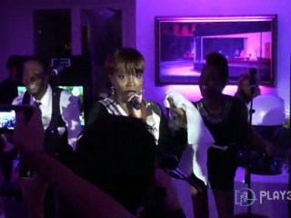 Mini-concert Estelle et DJ Havana Brown : PS Move de