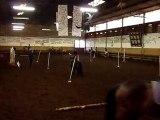 Essai TZ7 dans manége a chevaux