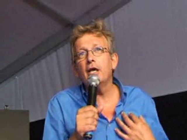Fête de l'Huma 2010 Discours de Pierre Laurent (PCF)