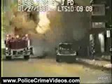 Police Crime Videos: Fire Causes Major Backdraft