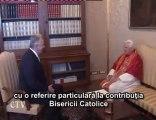 Benedict al XVI-lea: Preşedintele Ungariei în audienţă