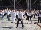 """Flash-mob """"c'est dans l'air"""" Paris centre Pompidou 12.09.10"""