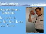 Interview Chef Clément - France Bleu Gard Lozère
