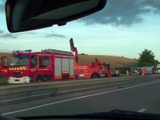 Accident mortel sur l'A39