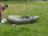 Bateau pneumatique GL Nautic 200, Démo gonfleur BRAVO 12