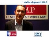 Alexandre Bouchy, responsable des Jeunes Actifs de Paris
