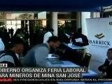 Gobierno chileno organiza feria laboral para trabajadores de