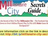 Facebook Millionaire City - Millionaire City Secrets Guide