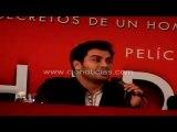 """Andrés Palacios Conferencia de Prensa Pelicula """"Hidalgo"""""""
