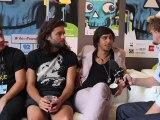 Interview des Naive New Beaters - festival Rock en Seine