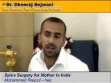 Low cost Spinal Fusion surgery at Mumbai and Nagpur