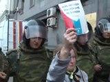 Moscou manifestation de l'opposition, répression policières.