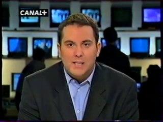 Extrait Du journal télévisé Du 11 Septembre 2001 Canal+